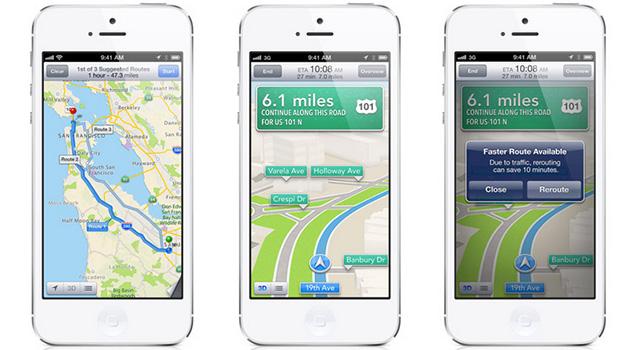 iPhone地図アプリ「命に関わるから使わないで
