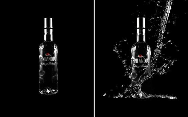 Water effect on products Photoshop tutorial
