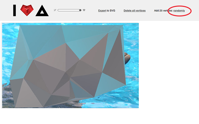 Polygonal illustration