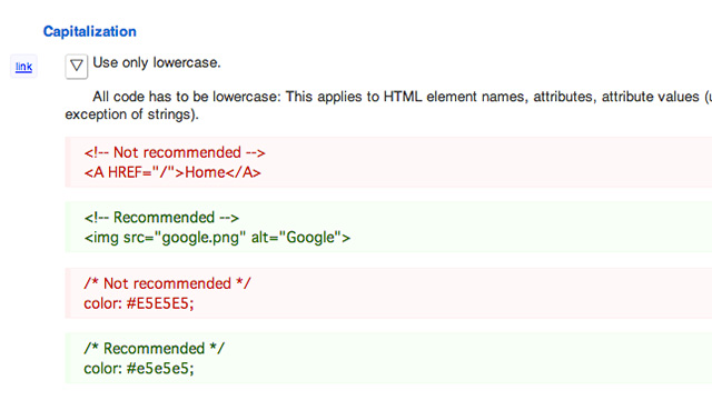 Googleのガイドライン例
