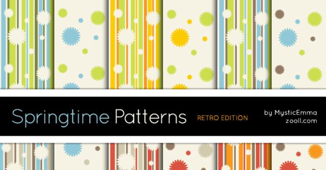 springtime_patterns_retro