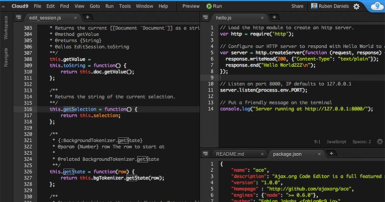 cloud9-editor