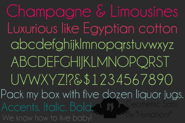 thin-font
