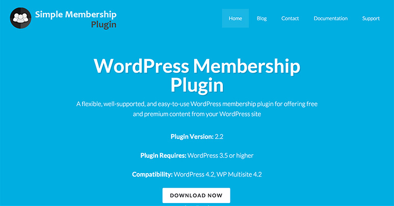 wordpressで会員制サイトを作れる無料プラグイン simple membership