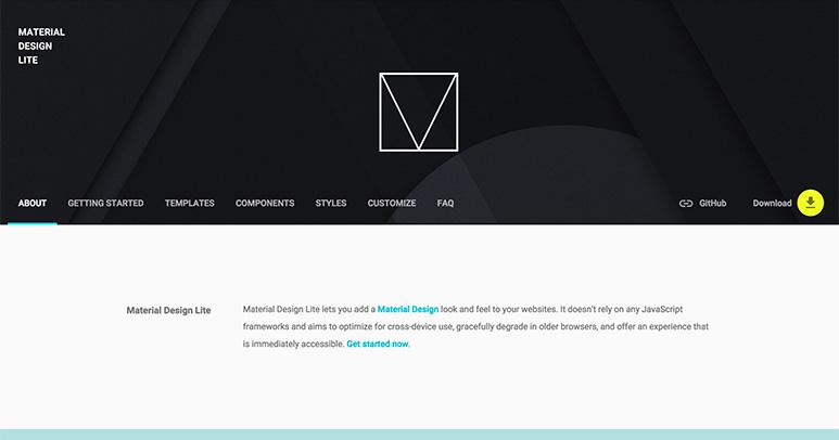 material-website