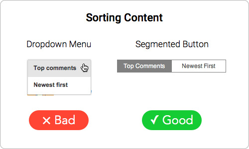 segmented-button-sorting