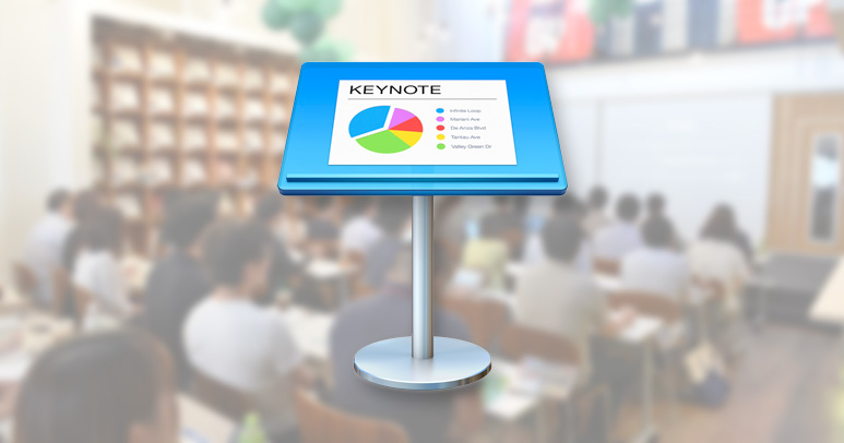 keynoteを使ってスライドを作成 かっこよくプレゼンしよう web